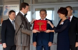 The Governor of Moscow Region Sergei Shoygu opened a new school built by PIK Group in Mytischi